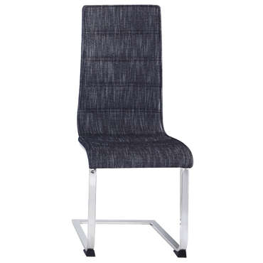 Chaise OLLIE coloris gris chiné