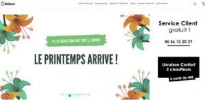 Promo sur le mobilier de Salon et Jardin chez Delorm Design