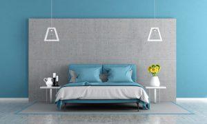Couleur Mur Chambre Bleu Gris