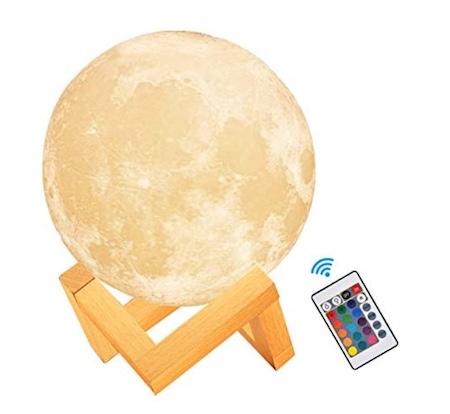 veilleuse lune 3D